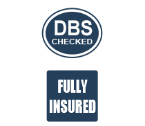 CRB checked and fully insured cleaning company